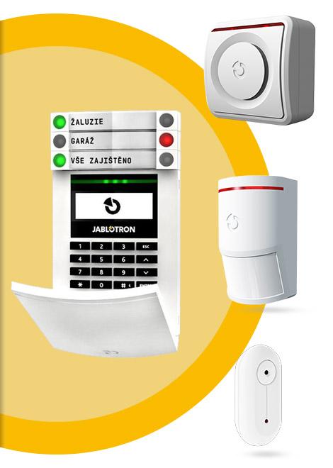 Realizuji montáž alarmů JABLOTRON do bytů, rodinných domů a rozsáhlých firemních objektů. Pomáhám s napojením alarmů na pult centralizované ochrany.